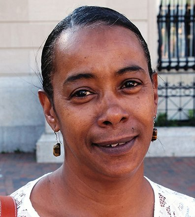 The government should be able to listen to conversation only if the people are from another country.  - Deborah Greene, Teacher's Assistant, Roxbury