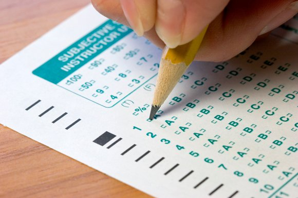 Standardized test scores for students in Los Angeles County and around the state dipped just slightly compared to last year, ...