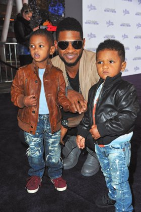 Usher Raymond's 5-year-old son is out of the hospital a week after a near-fatal swimming pool accident, his mother's lawyer ...