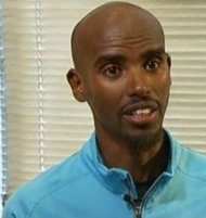 Olympic and world champion runner Mo Farah