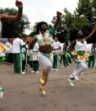 The New Southside Steppers Marching Unit