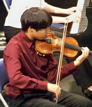 Rey Sasaki has been playing the violin since he was four. In the fall, the 13-year-old Lutherville resident will get the opportunity to receive thousands of dollars in music training for free at the highly regarded Peabody Institute.