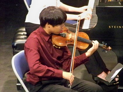 Rey Sasaki has been playing the violin since he was four. In the fall, the 13-year-old Lutherville resident will get ...