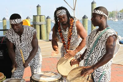Drummers at the Kunta Kinte Heritage Festival