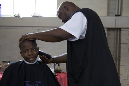 Concerned Black Men held its 3rd annual Back to School Give-Away on Saturday at the Thurgood Marshall Center for Service ...