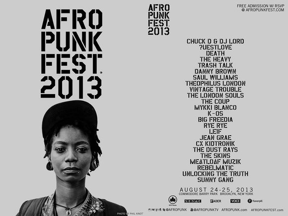 The ninth annual Afropunk Fest will return to Brooklyn's Commodore Barry Park this year with new artists and events that ...