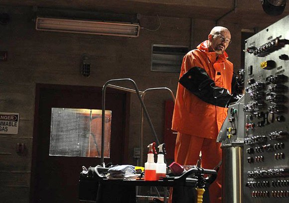 "Sunday night brought the beginning of the end for Walter White of ""Breaking Bad."" The first of the final eight ..."