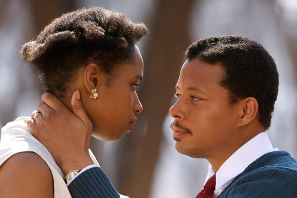 "Terrence Howard and Jennifer Hudson star in ""Winnie Mandela."""