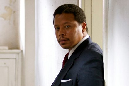"Terrence Howard stars as Nelson Mandela in ""Winnie Mandela."""
