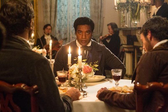 "Chiwetel Ejiofor as ""Solomon Northup"" in Steve McQueens's ""12 Years A Slave."""