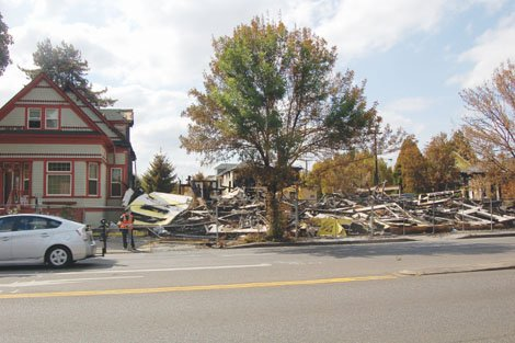 The Portland Fire Bureau search for answers following Aug. 8's massive fire on MLK Boulevard.