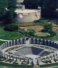 Maryland World War II Memorial, erected 1998
