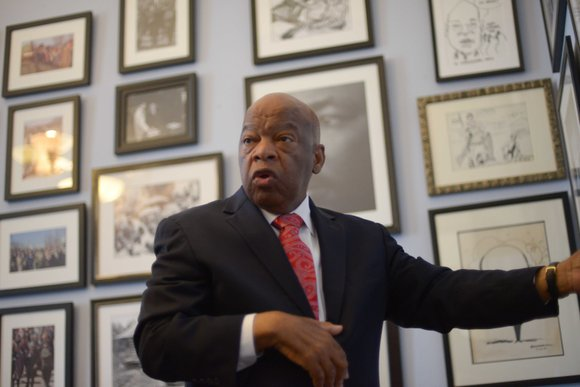 "Often called ""one of the most courageous persons the Civil Rights Movement ever produced,"" Congressman John Lewis has dedicated his ..."