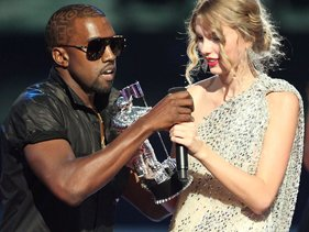 Yet more of a reason to heart Taylor Swift. The songstress is still poking fun at that infamous Kanye West ...
