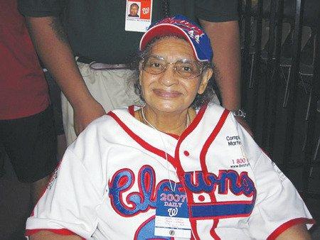 "Mamie ""Peanut"" Johnson (Courtesy of the Baseball Hall of Fame)"
