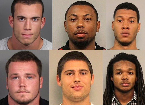 Attorneys representing the five Vanderbilt University football players who are facing charges related to the alleged rape of an unconscious ...