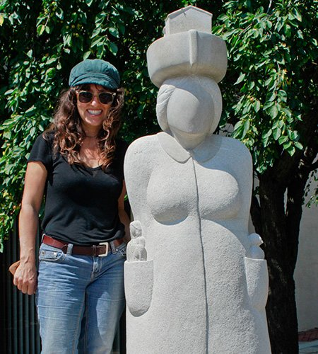 "Contemporary art stone carver Nora Valdez will kick-off the initiative with the presentation of her public sculpture ""The Immigrant,"" which ..."