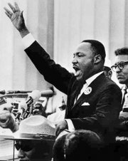 """Dr. Martin Luther King Jr. delivered his """"I Have a Dream"""" speech to 250,000 people on the National Mall on Aug. 28, 1963, during the March on Washington."""