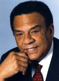 Andrew Young, former U.S. Ambassador to the United Nations, will address Howard University freshmen on Friday, Aug. 25 in Cramton Auditorium on the school's campus. He will also debut a civil rights film Sunday in the auditorium. (Courtesy photo)