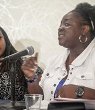 MLK March Committee Executive Director, Jamida Orange is a Telling HerStory panelist on the Black Women's Roundtable at the Hyatt Regency Capitol Hill in Northwest on Thurs., August 22.