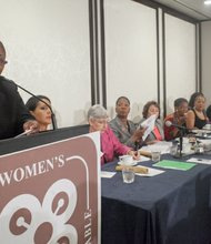 **FILE** Melanie L. Campbell, president and CEO of National Coalition on Black Civic Participation, hosts the Black Women's Roundtable at the Hyatt Regency Capitol Hill in D.C. on Aug. 22, 2013.