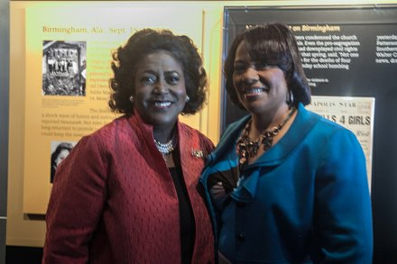 NCNW Chair Ingrid Saunders Jones and Rev. Bernice King