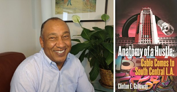 Clinton Galloway and the cover of Anatomy of a Hustle
