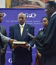 Davita Vance-Cooks takes oath of office as Public Printer of the U. S.
