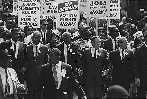 The March on Washington in 1963