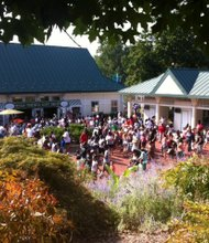 A steady stream of people passed through the gates of the Maryland Zoo throughout the day. A record breaking crowd of 18,000 attended the event. (Chad Sour/The Baltimore Times)