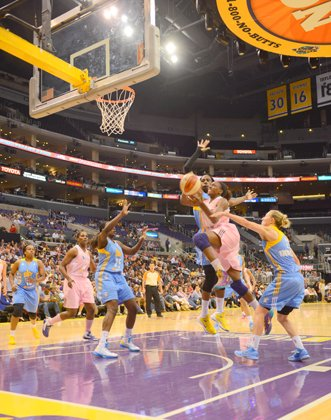 L.A. Sparks: Road to the play-offs.