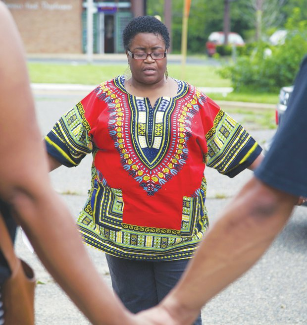The Rev. Dr. Deborah Brooks, from the Family Healing and Empowerment Institute of Prince George's County, feels youth violence is still a major cause for concern. She participated in a rally earlier this month in Suitland, Md.