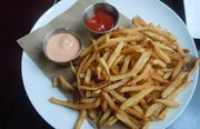 GEM's shoestring fries are some of the best fries in the city.