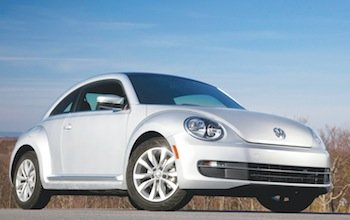 With the VW Beetle TDI, you are getting an extremely fuel efficient diesel power plant in a usable, fun and stylish package. (Photo courtesy of Volkswagen of America, Inc.)