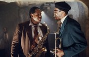 "Whitaker (L) played jazz saxophonist Charlie ""Bird"" Parker in Clint Eastwood's Bird."