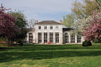 Orangery at Wye House, Easton, MD.