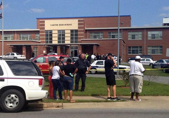 Carver High School Shooting. Greensboro-High Point-Winston Salem, NC Police are investigating a reported shooting at Carver High School on Friday afternoon, August 30, 2013. School officials said the shooter is in custody but would not provide any information about possible victims.