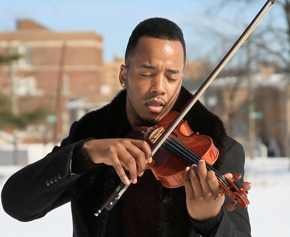 After taking a break from the music scene and going through life changes, hip hop violinist Damien Escobar is back ...