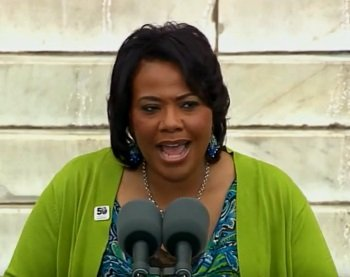 The Rev. Bernice King, daughter of Martin Luther King Jr., gave the following remarks on Aug. 28 at the 50th ...