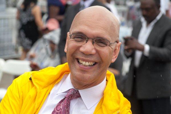 Dr. Derrick Harkins, senior pastor of 19th Street Baptist Church