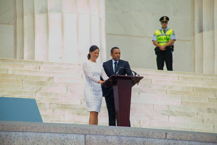 Soledad O'Brien and Hill Harper