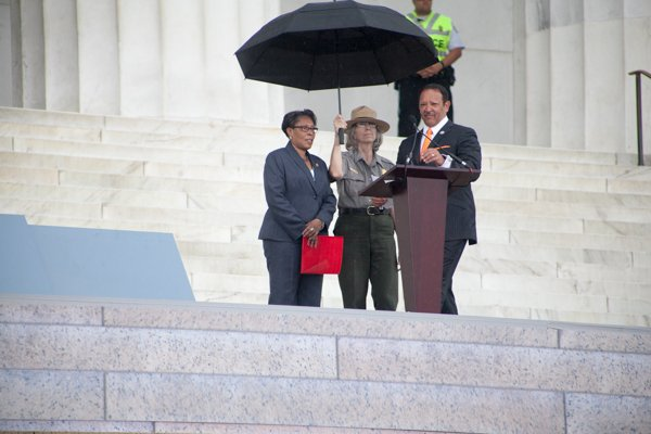Congresswoman Marcia Fudge (D-OH-11th District) and Marc Morial, president and CEO of the National Urban League