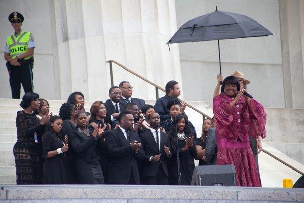 "Rev. Shirley Caesar Williams performing ""How I Got Over"""