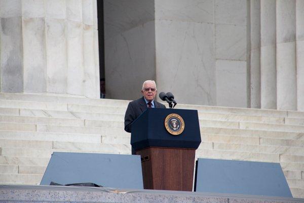 Former President Jimmy Carter speaks