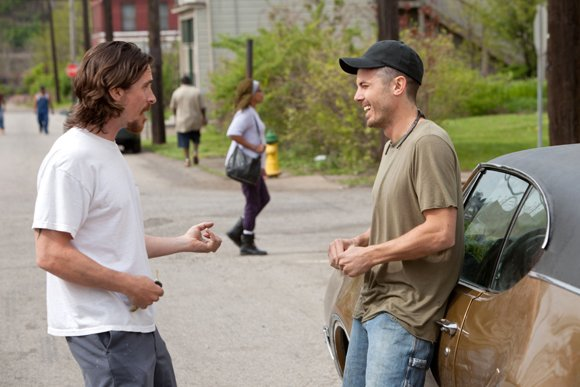 "Christian Bale and Casey Affleck star in Relativity Media's ""Out of the Furnace."""