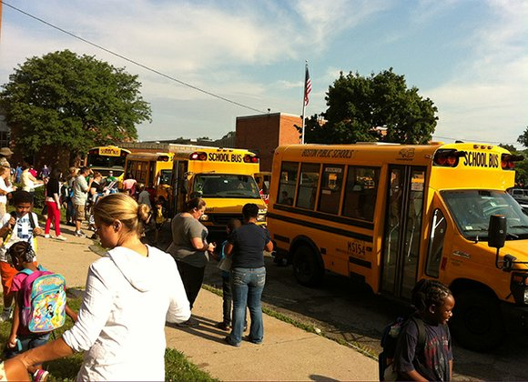 On Sept. 4, Boston Public Schools (BPS) started off the school year in the passing lane with its new bus ...