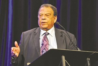Andrew Young, former United States Ambassador to the United Nations, screened a one-hour documentary film about the Birmingham civil rights ...