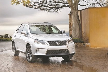 The Lexus RX 350 has a reputation for being not just refined and comfortable, but also for being exceptionally well-equipped. (Courtesy of Toyota Motor Sales U.S.A., Inc.)