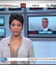 Tamron Hall, chief anchor for MSNBC's NewsNation with Tamron Hall, began hosting Deadline: Crime with Tamron Hall on Investigation Discovery on Sept. 1.