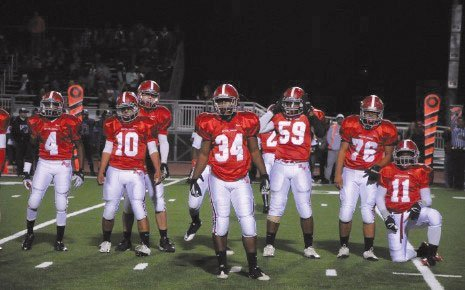 Knight High School football team.